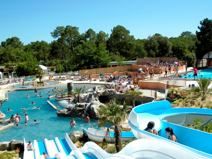 Image gallery location gironde for Camping verdon piscine