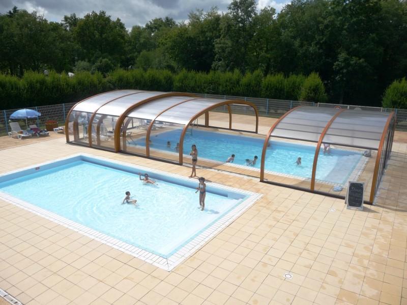 Camping bois de pleuven i mobil home lou petit prix for Prix piscine exterieure