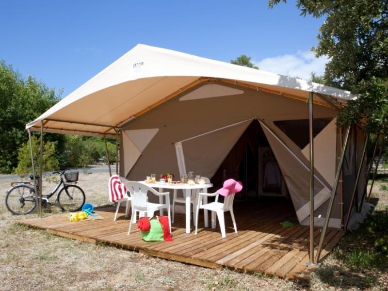 Location tente pas cher 2 chambres en camping en charente - Chambre des notaires charente maritime ...