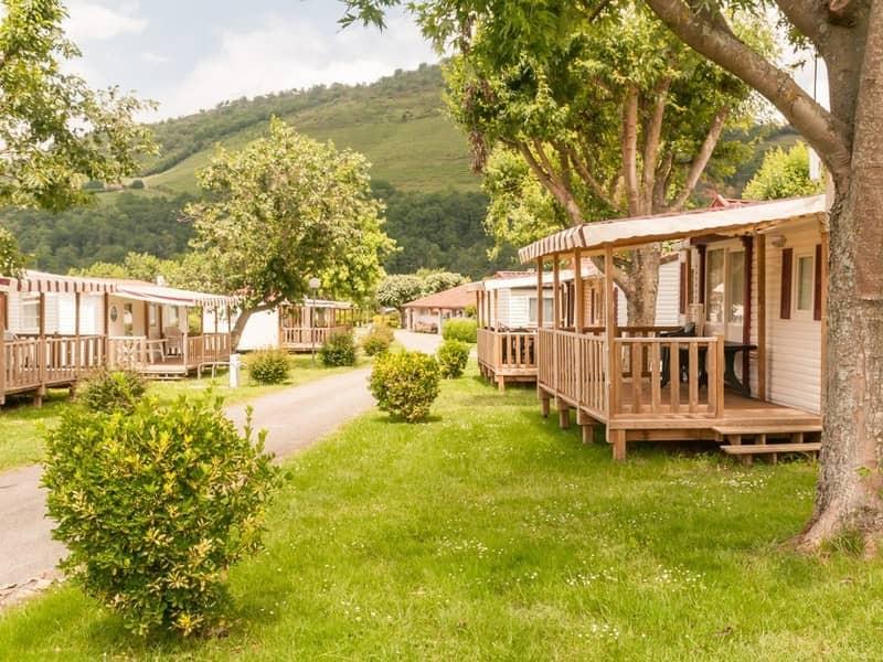 Camping europ camping location mobil home en pyr n es atlantique - Europ camping st jean pied de port ...