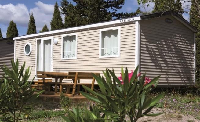 location mobil home pas cher 2 chambres 6 places dans l 39 aude. Black Bedroom Furniture Sets. Home Design Ideas
