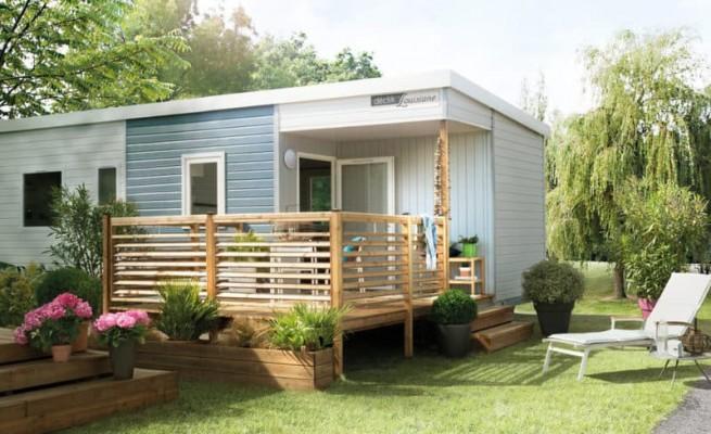 Mobil home declick 3 chambres 6 8 pers for Camping pas de calais avec piscine couverte