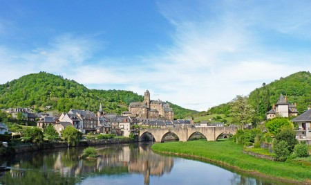 Village d'Estaing, Aveyron