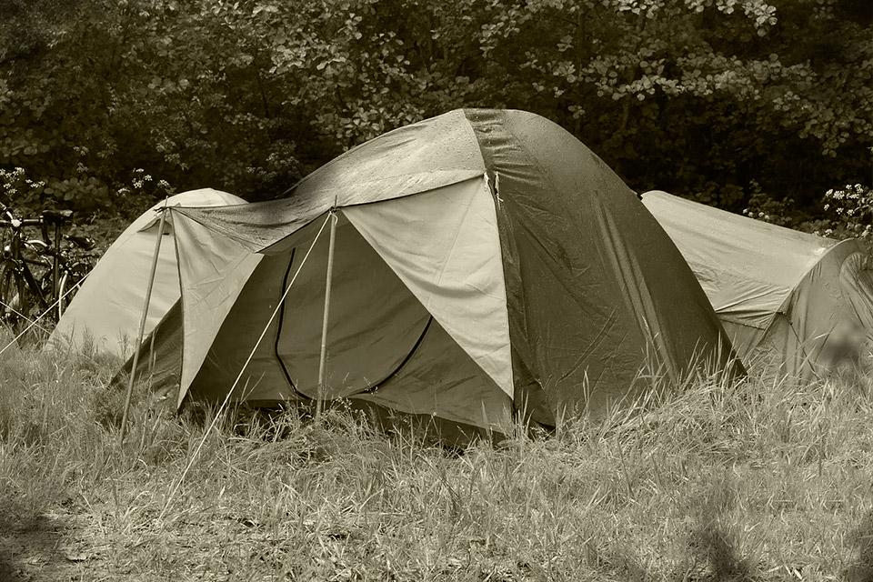Français le secteur du camping